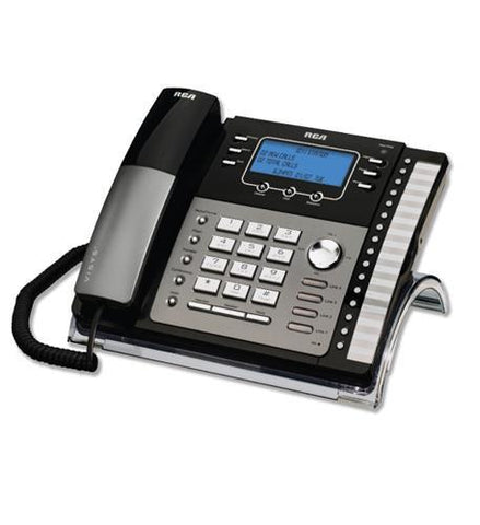 Telefield N.A. RCA-25423RE1 RCA 4-Line EXP Speakerphone w/ Intercom - Peazz.com
