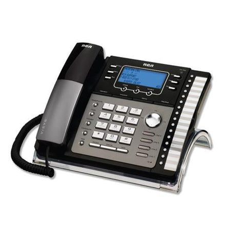 Telefield N.A. RCA-25425RE1 RCA 4-Line EXP Speakerphone w/ ITAD - Peazz.com