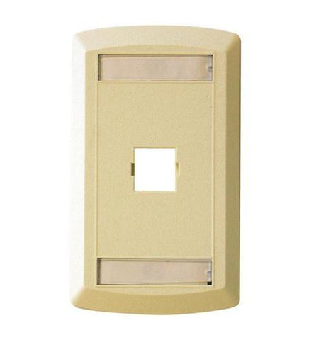 SUTTLE 1 SE-STAR500S2-52 Suttle 2 Outlet Faceplate - Ivory - Peazz.com