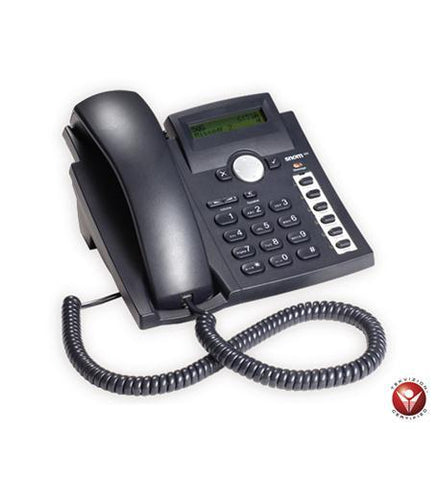 Snom SNO-300-BK Baseline Phone 27 Keys Black 3037 - Peazz.com
