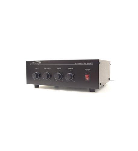 SPECO SPC-PBM30 30W Contractor Series PA Amplifier  UL - Peazz.com