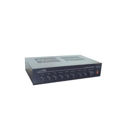 SPECO SPC-PMM120A 120W PA Mixer Power Amplifier w/ 6 Input - Peazz.com