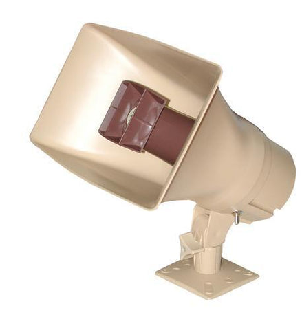 VALCOM VC-V-1038 30Watt 1Way Paging Horn - Beige - Peazz.com