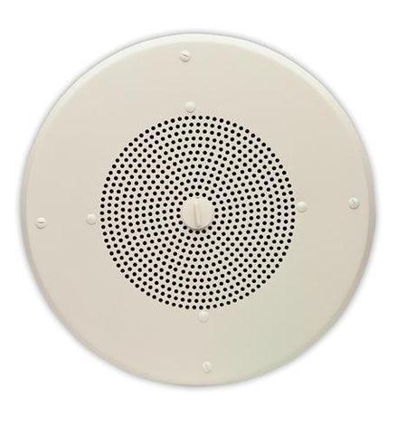 "VALCOM VC-V-1060A 8"" Talkback Ceiling Speaker - Peazz.com"