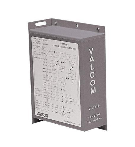 VALCOM VC-V-1101A 1 Way / 1 Zone Paging Control - Peazz.com