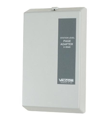 VALCOM VC-V-9940 Station Level Pag Adapter - Peazz.com