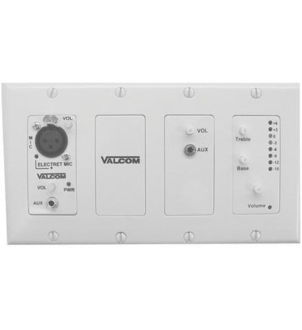 VALCOM VC-V-9985W In-wall Modular Mixer - Peazz.com