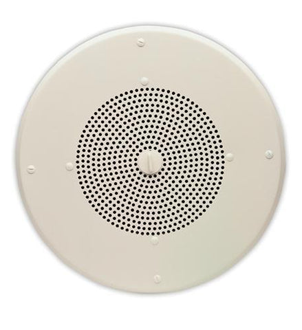 "VALCOM VC-VIP-120 8"" Round One Way Ceiling IP - Peazz.com"