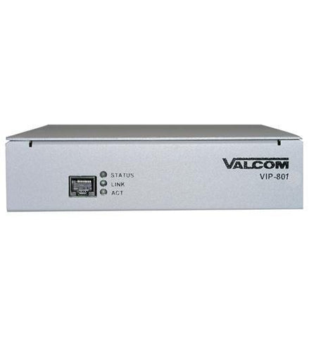 VALCOM VC-VIP-801 Networked Page Zone Extender - Peazz.com
