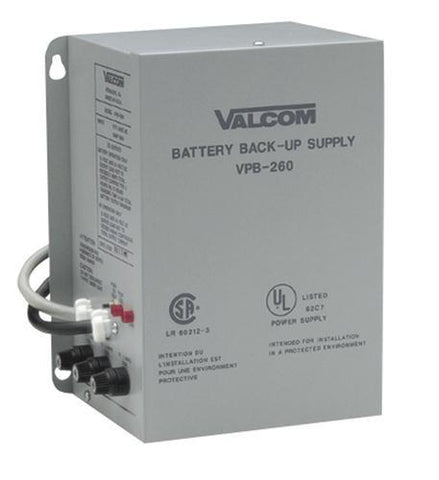 VALCOM VC-VPB-260 Valcom Battery Back-up - Peazz.com