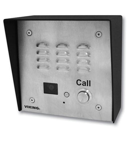 Viking Electronics VK-E-35 Handsfree Speakerphone - Stainless Steel - Peazz.com