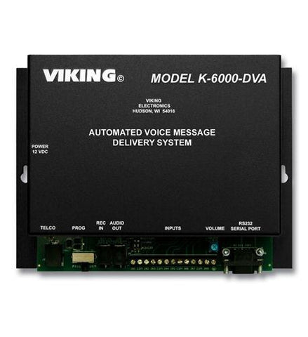 Viking Electronics VK-K-6000-DVA Automated Voice Msssaging - Peazz.com