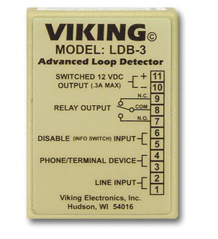 Viking Electronics VK-LDB-3 Loop and Ring Detector Board - Peazz.com
