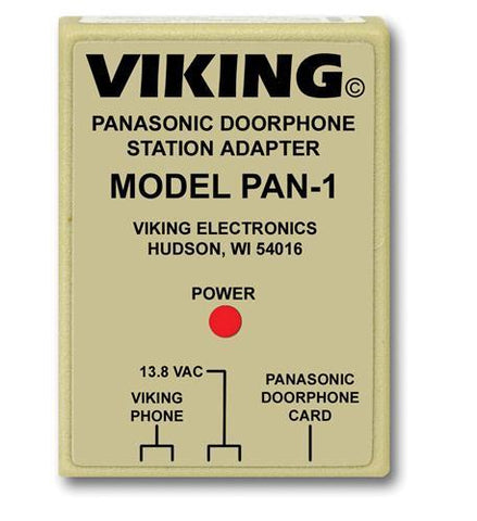 Viking Electronics VK-PAN-1 Panasonic Door Phone Station Adapter - Peazz.com