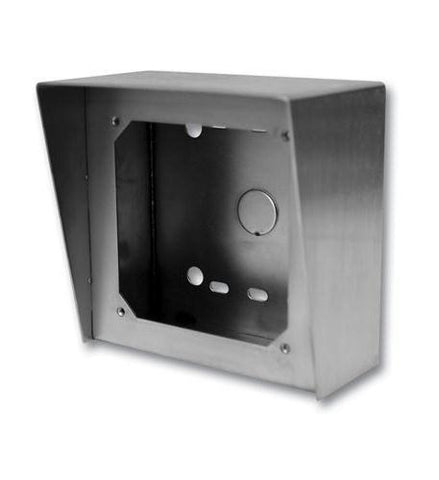 Viking Electronics VK-VE-5X5-SS Stainless Steail Surface Mount Box - Peazz.com
