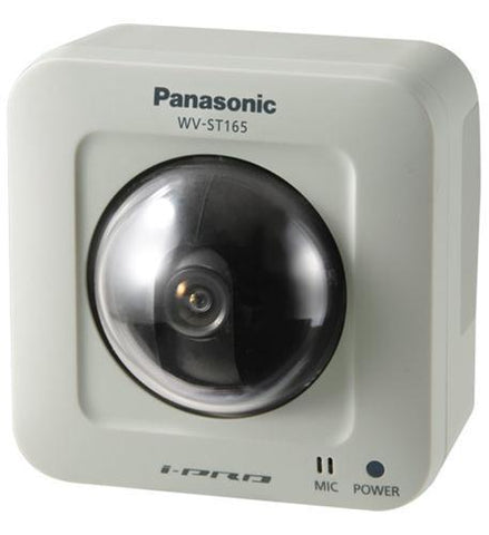 Panasonic Warranty WV-ST165 Indoor Pan-Tilting POE Network Camera - Peazz.com