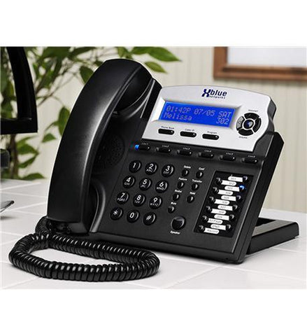 XBlue Networks XB-1670-00 XBlue Speakerphone - Charcoal - Peazz.com