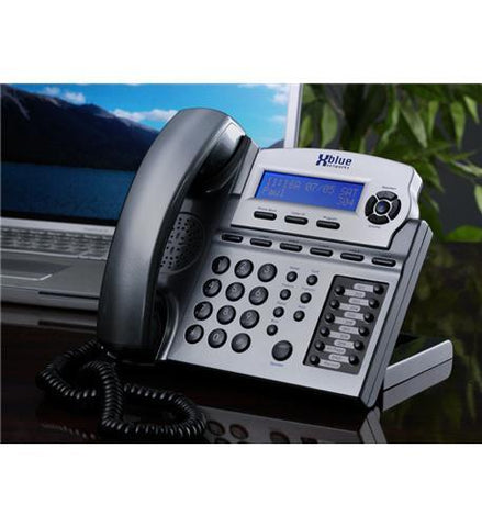 XBlue Networks XB-1670-86 XBlue Speakerphone - Titanium - Peazz.com