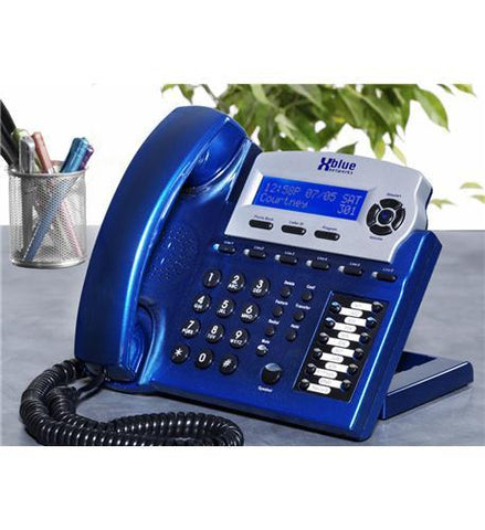 XBlue Networks XB-1670-92 XBlue Speakerphone - Vivid Blue - Peazz.com