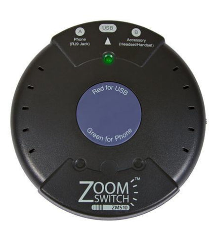 ZOOM ZM-ZMS10-C ZoomSwitch Headset Accessory - Peazz.com