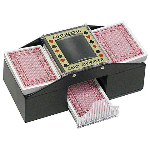 2 Deck Texas Holdem Card Shuffler - Peazz.com
