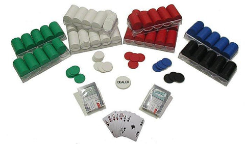 Trademark Commerce 10-1010-1k 1000 Poker Chips Texas Hold Em Set - Peazz.com