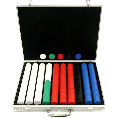 Trademark Commerce 10-1010-1ks 1000 Super Diamond Chips In Alum Case - Peazz.com