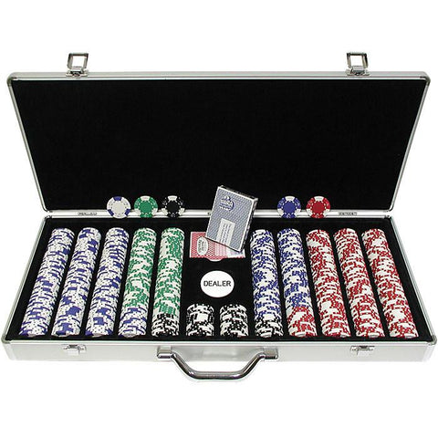 Trademark Commerce 10-1025-650sdx 650 Pc Lucky Crown 11.5G Chip Set W/Executive Alum. Case - Peazz.com