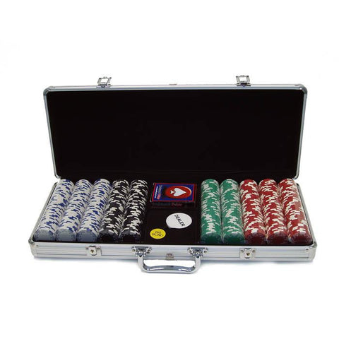 Trademark Commerce 10-1400-5001S 500 Royal Suited 11.5 Gram Chips W/Aluminum Case - Peazz.com