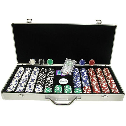 Trademark Commerce 10-1400-650sdx 650 Pc Royal Suited 11.5 Gram Chips W/ Aluminum Case - Peazz.com