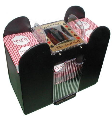 Trademark Commerce 10-2709XL 6 Deck Automatic Card Shuffler - Peazz.com