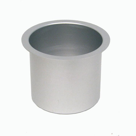 Trademark Poker 10-48201Gry Jumbo Aluminum Gray Poker Table Cup Holder - Peazz.com