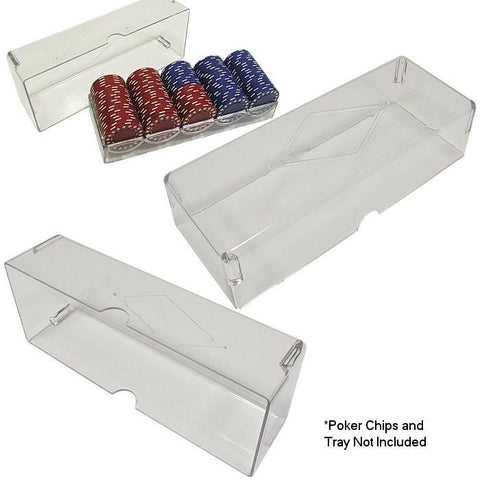 Trademark Poker 10-5030Cover Clear Acrylic Chip Rack Cover - Peazz.com