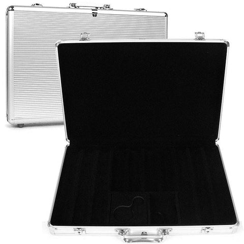 Trademark Commerce 10-650sdx 650 Capacity Chip Case - Executive Aluminum Hard Side - Peazz.com