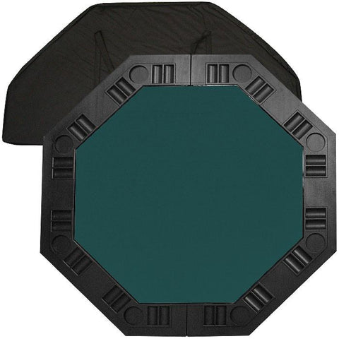 Trademark Commerce 10-8250-DKB 8 Player Octagonal Table Top - Dark Green - 48 Inch - Peazz.com