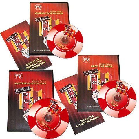 Trademark Commerce 10-CHAMPDVD-SET Ultimate Poker Dvd Collection - Peazz.com