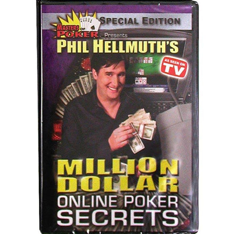 10-Phselr Dvd - Phil Hellmuth'S Million Dollar Online Poker Secrets - Peazz.com