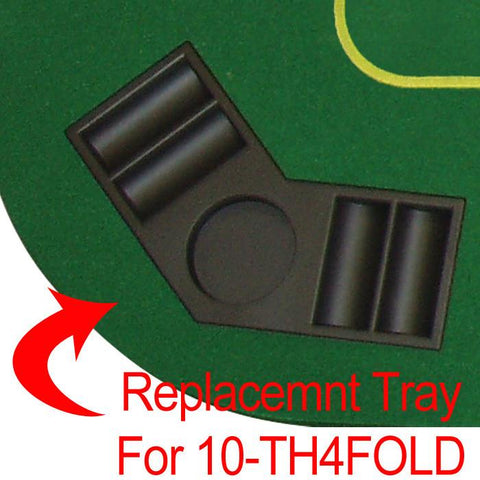 Trademark Poker 10-Thcor Corner Tray For Th4Fold - Peazz.com