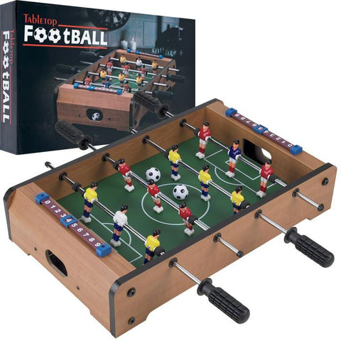 Trademark Commerce 15-3150 Gamest Mini Table Top Foosball W/ Accessories - Peazz.com
