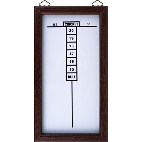 Trademark Commerce 15-32506 TGT Dry Erase Dart Board Cricket Scoreboard - Peazz.com