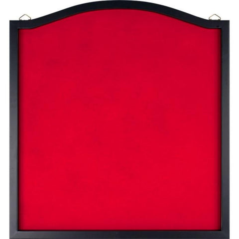 Trademark Commerce 15-34001 TGT Dart Backboard with Solid Wood Frame & Red felt - Peazz.com