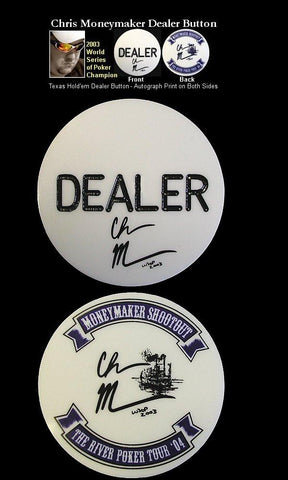 Trademark Poker 16-Mm5500 Chris Moneymaker Dealer Button - Peazz.com