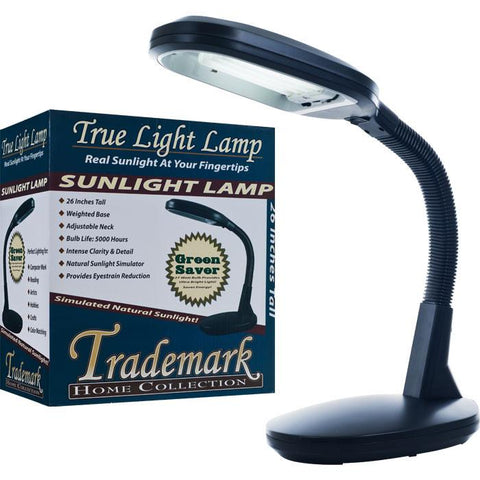 Trademark Home Collection 72-0893 Trademark Home Deluxe Black Sunlight Desk Lamp - Peazz.com