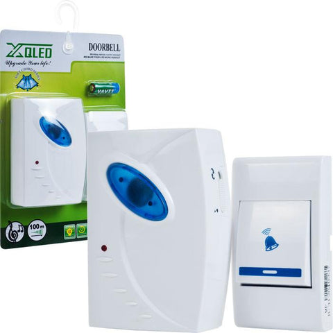 Trademark Home Collection 72-306B Remote Control Wireless Doorbell By Trademark Home - Peazz.com
