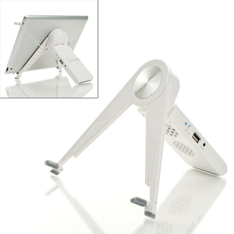 Tgt 72-Cp010 Tgt Kick It Stand Ipad & Tablet Usb Powered Stand & Speaker - Peazz.com
