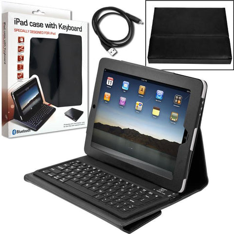Trademark Commerce 72-LS06 iPad Bluetooth Keyboard & Protective Case by Laptop BuddyT - Peazz.com