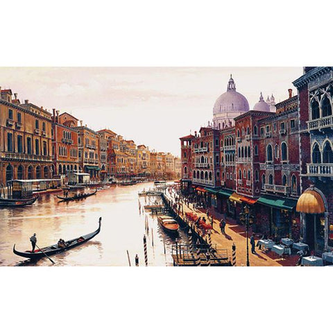 Canal of Venice by Hava - Extra Large Artwork - Peazz.com