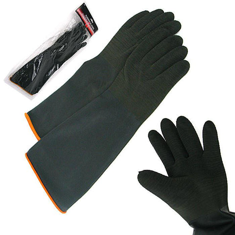 Trademark Tools 75-9918 Trademark Tools Heavy Black Rubber Crinkle Gloves - Peazz.com