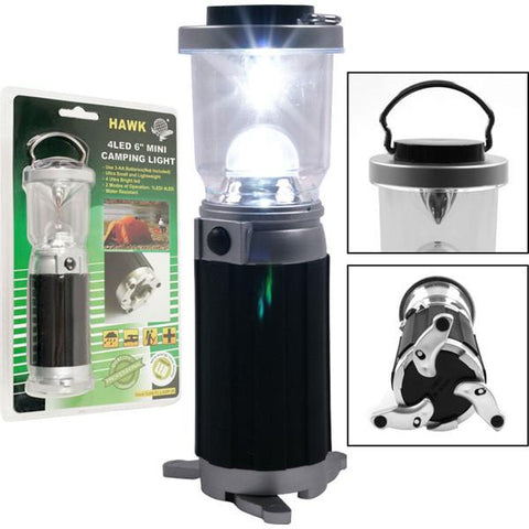 Super Bright 4 LED Mini Camping Light - Peazz.com