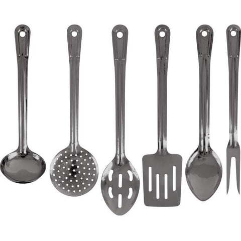 Trademark Commerce 80-1701 Happy CamperT - 6 Pc Stainless Utensil Set - Peazz.com